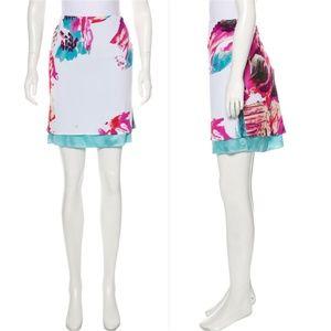 YIGAL AZROUËL Printed Mini Skirt